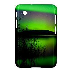Green Northern Lights Canada Samsung Galaxy Tab 2 (7 ) P3100 Hardshell Case  by Sapixe
