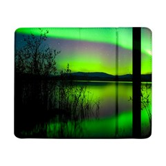 Green Northern Lights Canada Samsung Galaxy Tab Pro 8 4  Flip Case by Sapixe