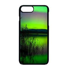 Green Northern Lights Canada Apple Iphone 7 Plus Seamless Case (black)