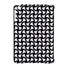 Grid Pattern Background Geometric Apple Ipad Mini Hardshell Case (compatible With Smart Cover)