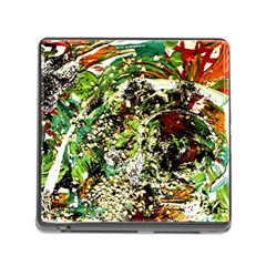 April   Birds Of Paradise 5 Memory Card Reader (square) by bestdesignintheworld