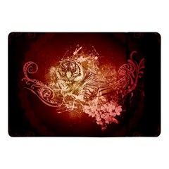 Wonderful Tiger With Flowers And Grunge Apple Ipad Pro 10 5   Flip Case by FantasyWorld7