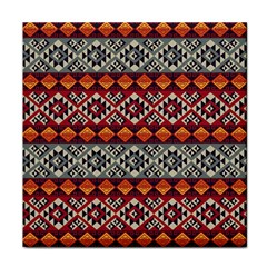 Mayan Symbols Pattern  Tile Coasters by Cveti