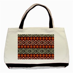 Mayan Symbols Pattern  Basic Tote Bag by Cveti