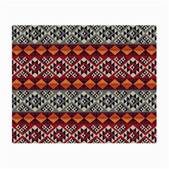 Mayan Symbols Pattern  Small Glasses Cloth (2 Side) by Cveti