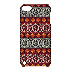 Mayan Symbols Pattern  Apple Ipod Touch 5 Hardshell Case With Stand by Cveti