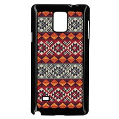 Mayan Symbols Pattern  Samsung Galaxy Note 4 Case (black) by Cveti