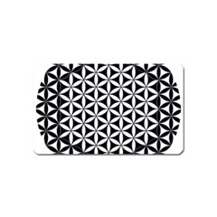 Flower Of Life Hexagon Cube 4 Magnet (name Card) by Cveti