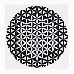 Flower Of Life Hexagon Cube 4 Medium Glasses Cloth (2 Side) by Cveti