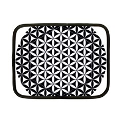 Flower Of Life Hexagon Cube 4 Netbook Case (small)  by Cveti