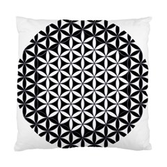 Flower Of Life Hexagon Cube 4 Standard Cushion Case (one Side) by Cveti