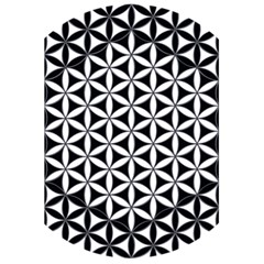 Flower Of Life Hexagon Cube 4 5 5  X 8 5  Notebooks by Cveti