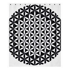 Flower Of Life Hexagon Cube 4 Shower Curtain 60  X 72  (medium)  by Cveti