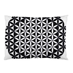 Flower Of Life Hexagon Cube 4 Pillow Case (two Sides) by Cveti