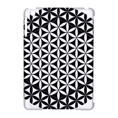 Flower Of Life Hexagon Cube 4 Apple Ipad Mini Hardshell Case (compatible With Smart Cover) by Cveti