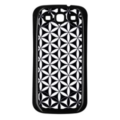 Flower Of Life Hexagon Cube 4 Samsung Galaxy S3 Back Case (black) by Cveti