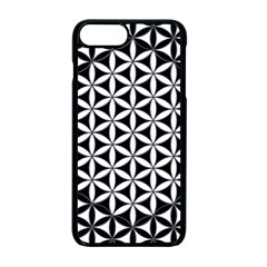 Flower Of Life Hexagon Cube 4 Apple Iphone 7 Plus Seamless Case (black) by Cveti