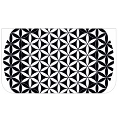 Flower Of Life Hexagon Cube 4 Lunch Bag by Cveti