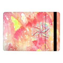 Flower Of Life Pattern Pink Samsung Galaxy Tab Pro 10 1  Flip Case by Cveti