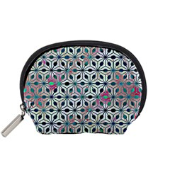 Asterisk, Pattern Sacred Geometry 1 Accessory Pouches (small)  by Cveti