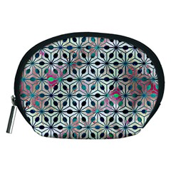 Asterisk, Pattern Sacred Geometry 1 Accessory Pouches (medium)  by Cveti