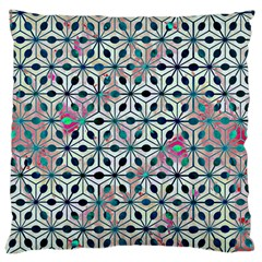 Asterisk, Pattern Sacred Geometry 1 Standard Flano Cushion Case (two Sides) by Cveti