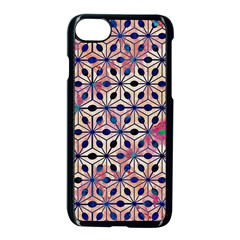 Asterisk Pattern Sacred Geometry 2 Apple Iphone 7 Seamless Case (black) by Cveti