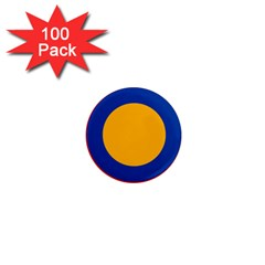 Roundel Of Armenian Air Force 1  Mini Magnets (100 Pack)  by abbeyz71