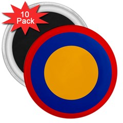 Roundel Of Armenian Air Force 3  Magnets (10 Pack)  by abbeyz71