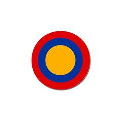 Roundel Of Armenian Air Force Golf Ball Marker (4 Pack) by abbeyz71
