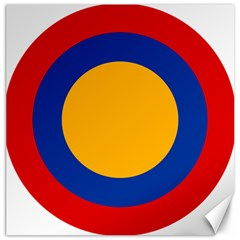 Roundel Of Armenian Air Force Canvas 12  X 12   by abbeyz71