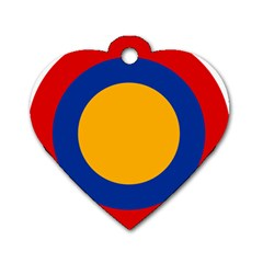Roundel Of Armenian Air Force Dog Tag Heart (two Sides) by abbeyz71