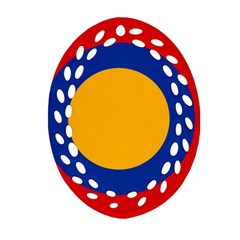 Roundel Of Armenian Air Force Ornament (oval Filigree) by abbeyz71