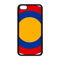 Roundel Of Armenian Air Force Apple Iphone 5c Seamless Case (black) by abbeyz71