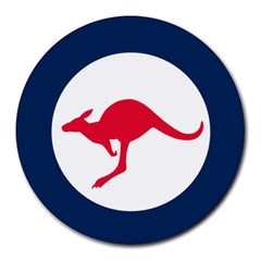 Roundel Of The Australian Air Force Round Mousepads by abbeyz71