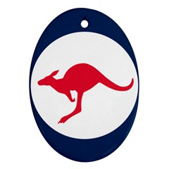 Roundel Of The Australian Air Force Ornament (oval) by abbeyz71
