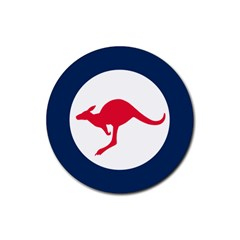 Roundel Of The Australian Air Force Rubber Round Coaster (4 Pack)  by abbeyz71