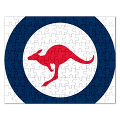 Roundel Of The Australian Air Force Rectangular Jigsaw Puzzl by abbeyz71