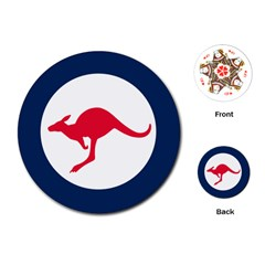 Roundel Of The Australian Air Force Playing Cards (round)  by abbeyz71