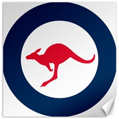 Roundel Of The Australian Air Force Canvas 20  X 20   by abbeyz71