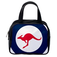 Roundel Of The Australian Air Force Classic Handbags (one Side) by abbeyz71