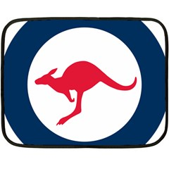 Roundel Of The Australian Air Force Fleece Blanket (mini) by abbeyz71