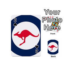 Roundel Of The Australian Air Force Playing Cards 54 (mini)  by abbeyz71