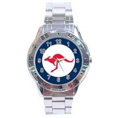 Roundel Of The Australian Air Force Stainless Steel Analogue Watch by abbeyz71