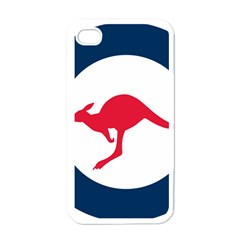 Roundel Of The Australian Air Force Apple Iphone 4 Case (white) by abbeyz71