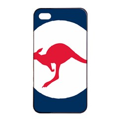 Roundel Of The Australian Air Force Apple Iphone 4/4s Seamless Case (black) by abbeyz71