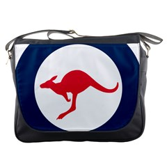 Roundel Of The Australian Air Force Messenger Bags by abbeyz71