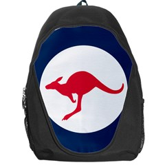 Roundel Of The Australian Air Force Backpack Bag by abbeyz71