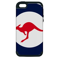 Roundel Of The Australian Air Force Apple Iphone 5 Hardshell Case (pc+silicone) by abbeyz71