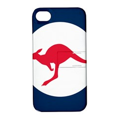 Roundel Of The Australian Air Force Apple Iphone 4/4s Hardshell Case With Stand by abbeyz71